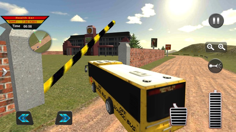 Off-Road American School Bus screenshot-3