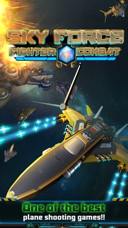 Sky Force: Fighter Combat screenshot-4