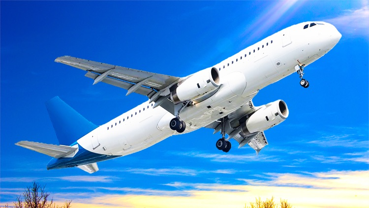 Airplane flight simulator 3 screenshot-4