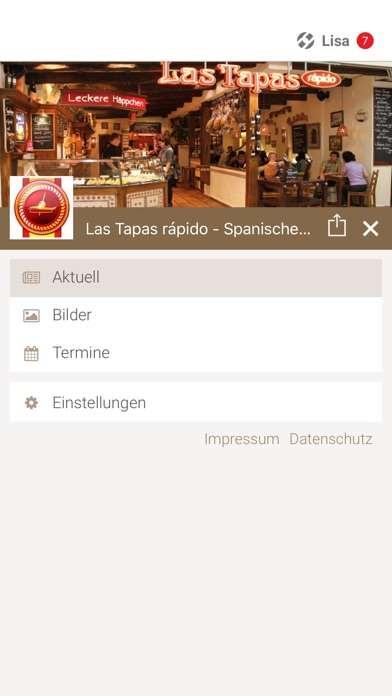 Las Tapas rápido DresdenScreenshot von 2