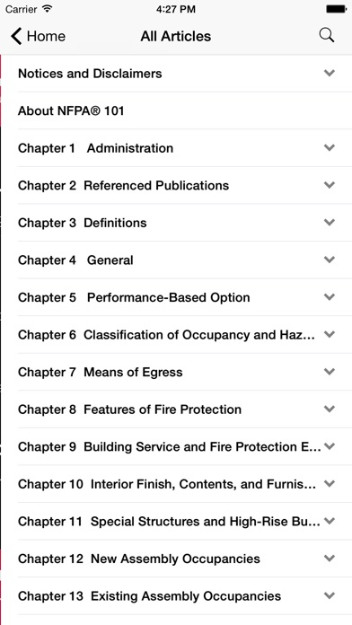 Nfpa 101 2012 Edition review screenshots