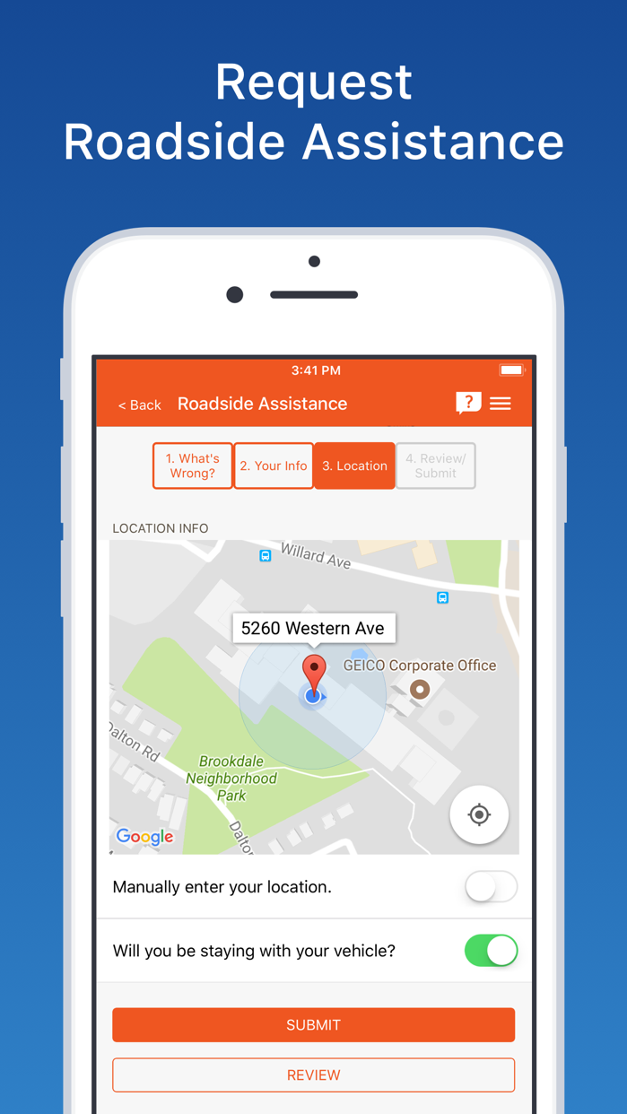 GEICO Mobile - Car Insurance Screenshot