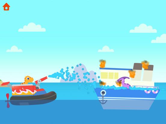 恐竜パトロールボート - 子供向けゲームのおすすめ画像8
