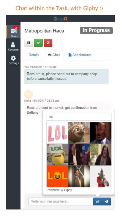 TasksQ - Task Management App screenshot-3