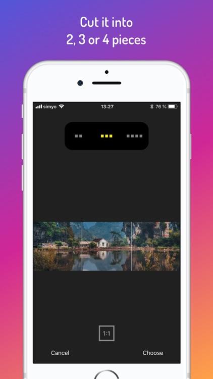 PanoSplit HD for Instagram
