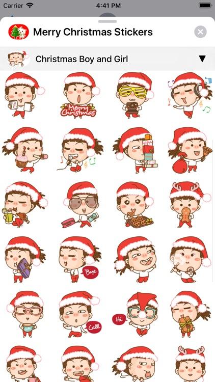 Merry Christmas Sticker Packs screenshot-8