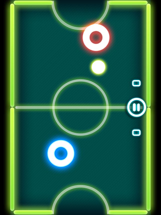 Glow Hockey 2 HD Screenshot