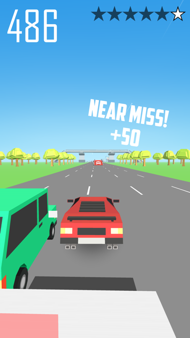 Road Chase screenshot one