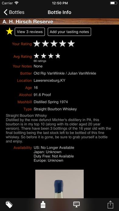 Bourbon Enthusiast review screenshots