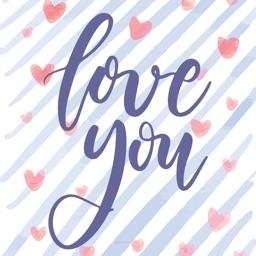 Animated Valentine's Love Card