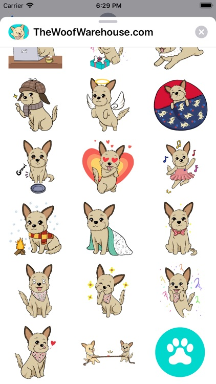 Dog Stickers by Woof Warehouse