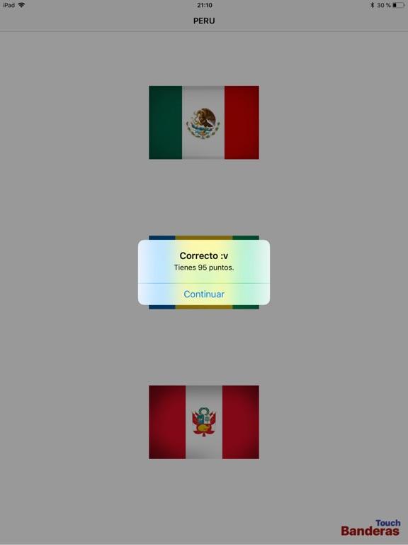 Touch Banderas screenshot 10