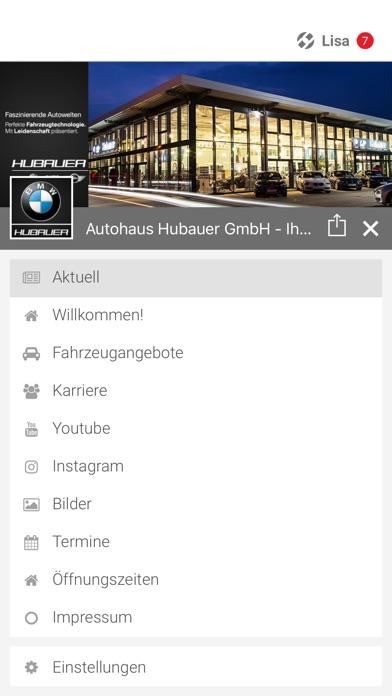 Autohaus HubauerScreenshot von 2