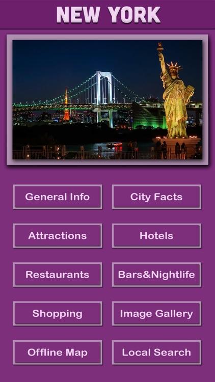 New York Offline Tourism