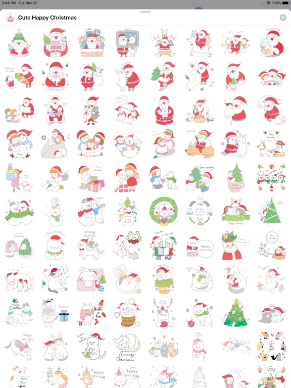 Cute Hand Drawn Christmas Pack screenshot 8