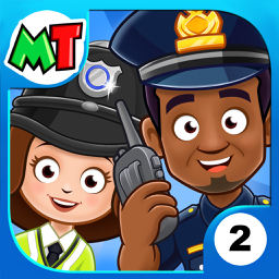 Ícone do app My Town : Police