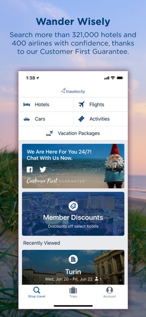 Travelocity Hotels Flights On The App Store