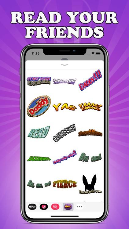 Sass Stickers screenshot-5