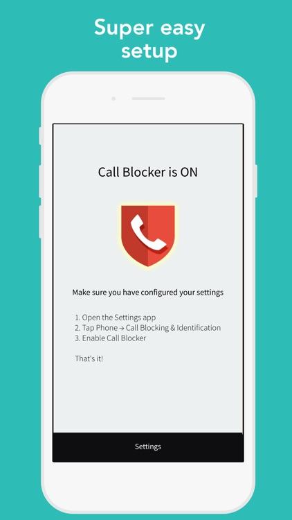 CallBlocker - Block scam calls screenshot-3