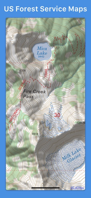 Topo maps on the app store topo maps on the app store gumiabroncs Images