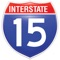 The I-15 App includes up-to-the-minute information from the Idaho Transportation Department to help you plan your travel during construction on I-15