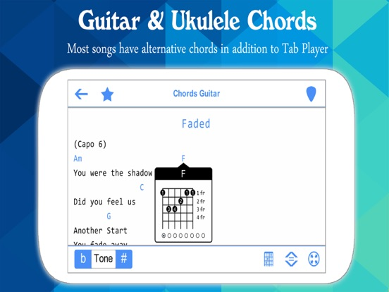 Perfect Guitar Tabs & Chords | App Price Drops