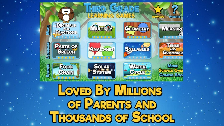 Third Grade Learning Games SE screenshot-4