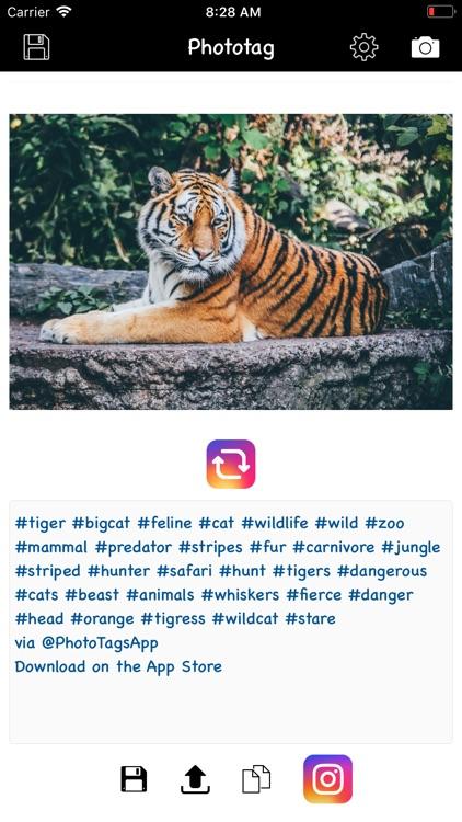 Phototag hashtag generator PRO screenshot-4