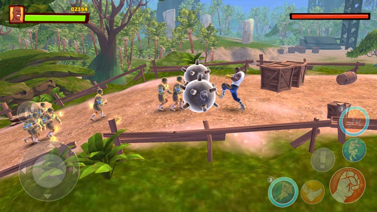 Shaq Fu: A Legend Reborn screenshot-4