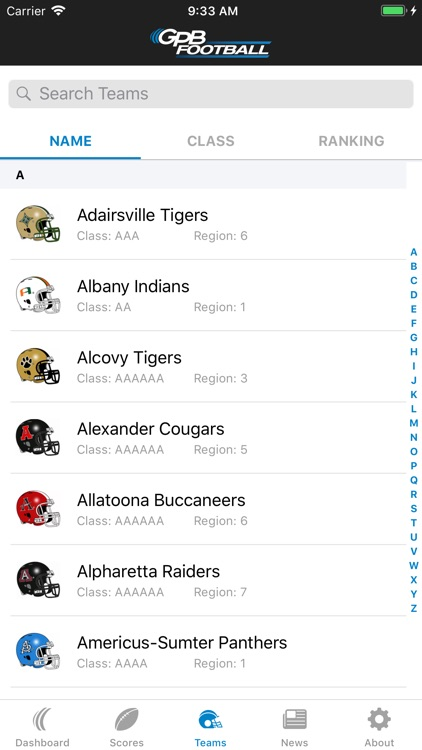 GPB Sports: Football screenshot-2