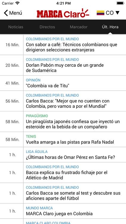MARCA Claro screenshot-4