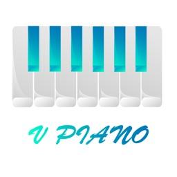 V Piano Synthesizer Audio Beat