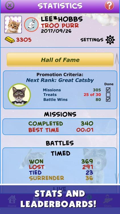 Word Search : Battle Cats screenshot-4
