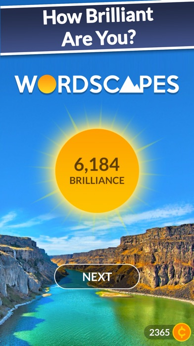 Screenshot for Wordscapes in United States App Store