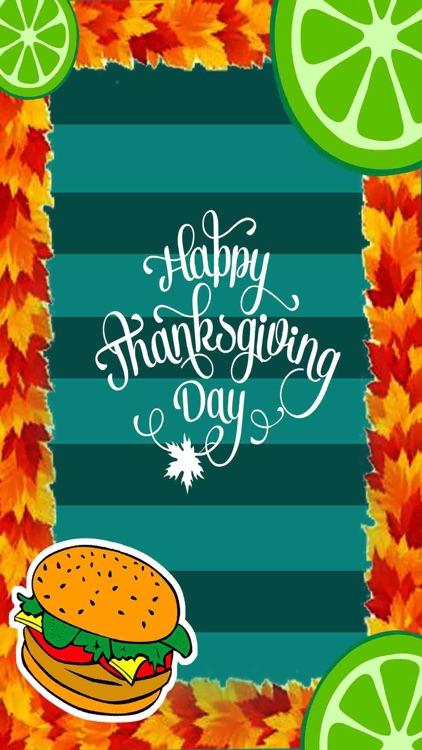Thanksgiving Photo Frame Maker by Muhammad Amin