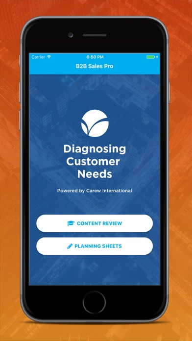 Diagnosing Customer Needs Screenshots