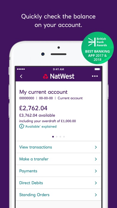 Natwest mobile banking by national westminster bank plc ios united screenshots colourmoves