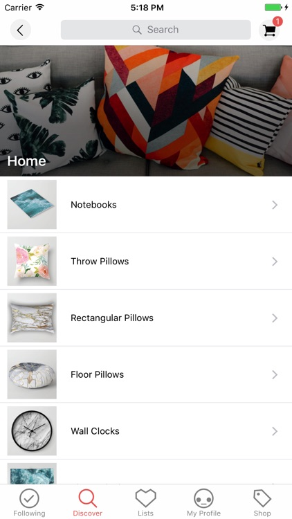 Society6 screenshot-2