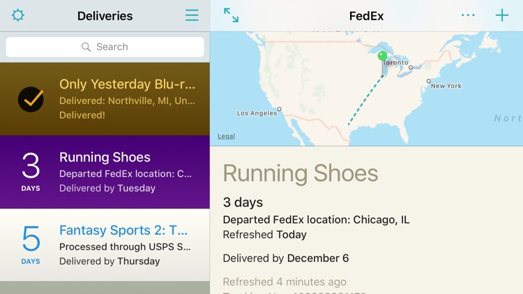 Deliveries: a package tracker screenshot-3