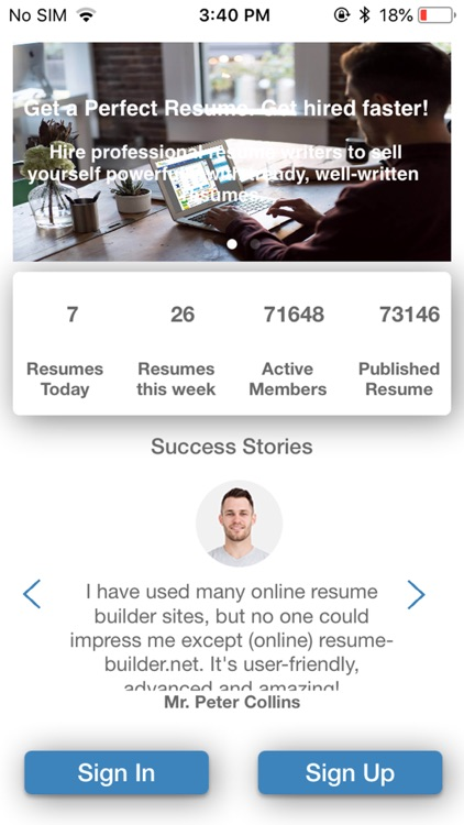 Resume Builder - CV Maker screenshot-0