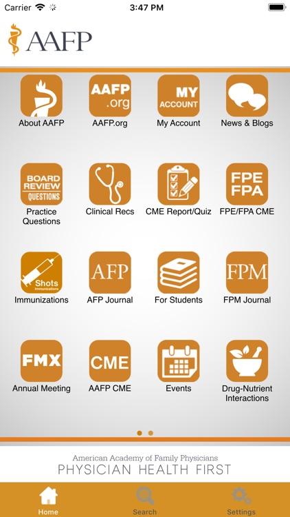 AAFP screenshot-0