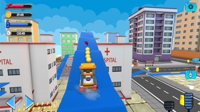 City Stunts Car Driving Games screenshot one
