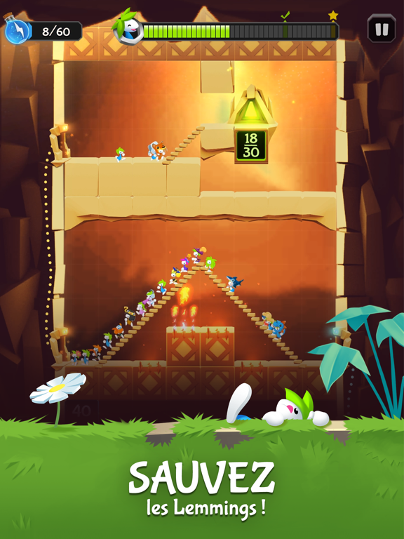 Lemmings - Aventure puzzle