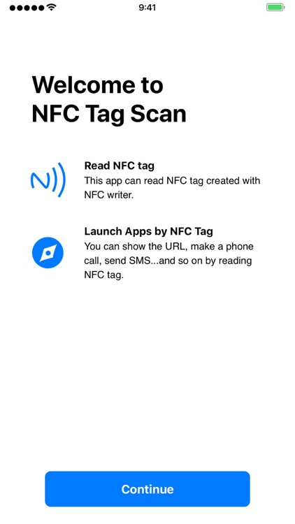 NFC Tag Scan