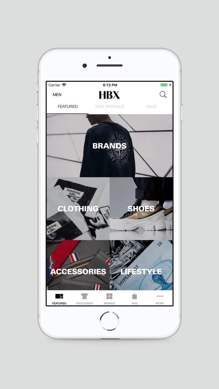 HBX | Globally Curated Fashion Screenshot