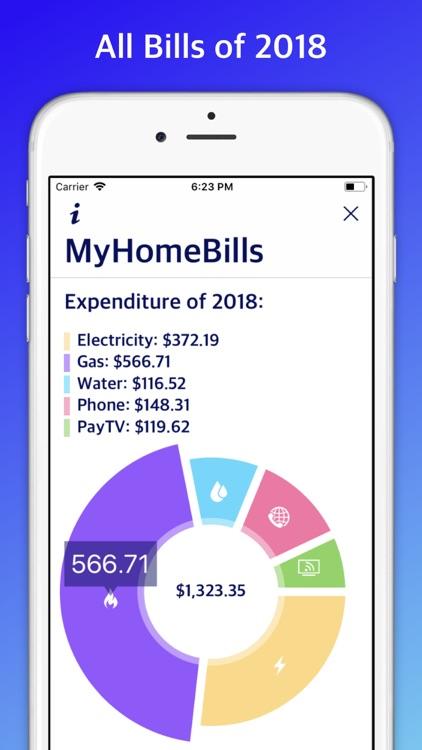 My Home Bills: Household bills