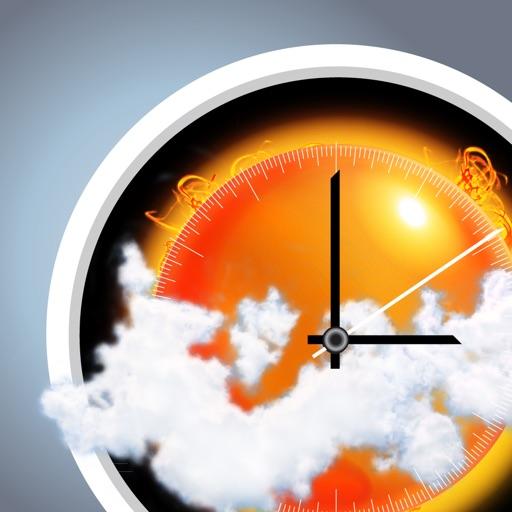 Прогноз погоды, барометр, почасовой прогноз и температура на домашнем экране