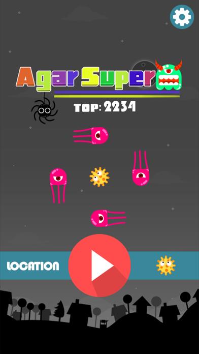 Agar Super - Evolution of Agar screenshot one