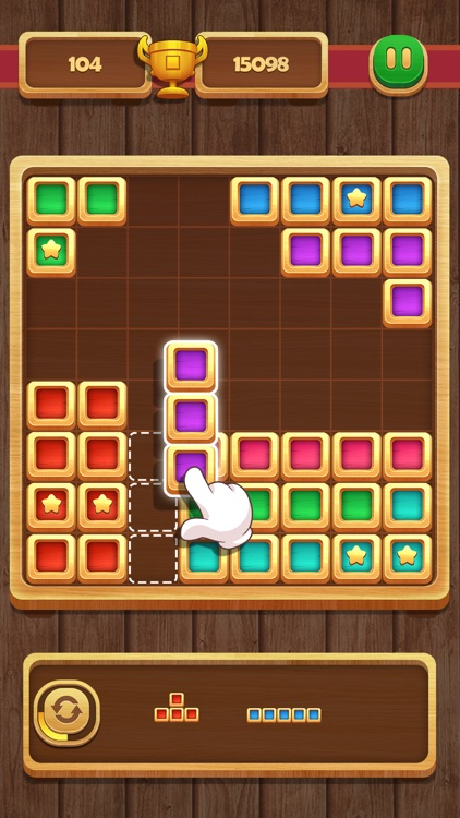 Block Puzzle - Wood Star screenshot-3