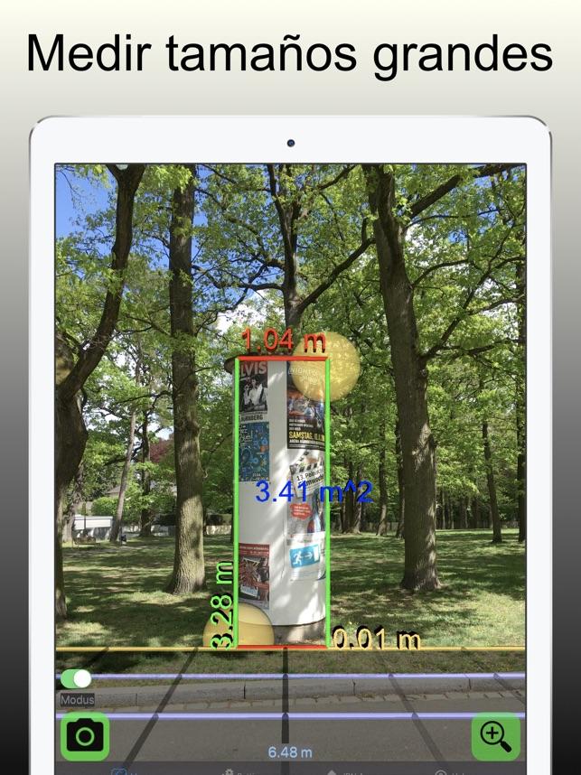 Vídeo medida 3D: Cinta métrica en App Store